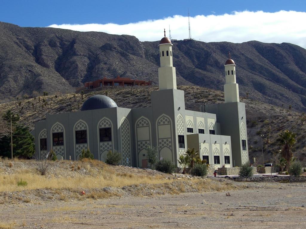 Mosque of america for El paso america